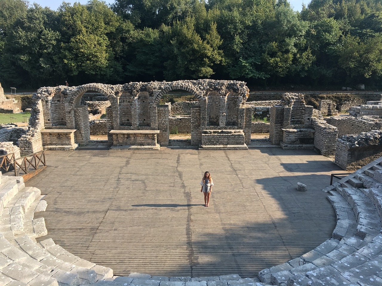 Ferienhaus Albanien - Weltkulturerbe Butrint